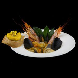 Сарсуэла - испанский буйабес с морепродуктами