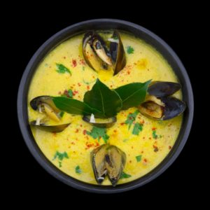 Крем-суп с мидиями