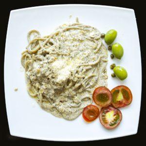 Спагетти с трюфельным соусом (spaghetti con salsa di tartufo)