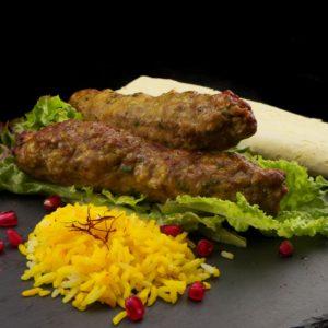 Персидский кебаб Кубиде (kabab koobideh)