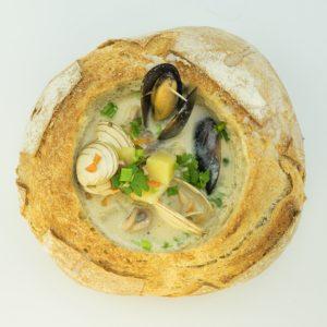 Новоанглийский клэм-чаудер рецепт (new england clam chowder)