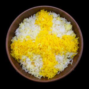 Персидский паровой рис чело (chelo)