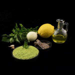 Итальянский соус сальса верде (salsa verde)