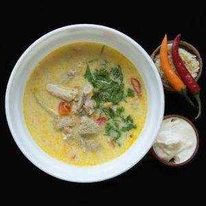 Румынский суп из говяжьего желудка (chiorba de burta)