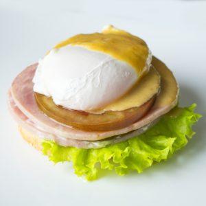 Яйца Блэкстоун. Разновидность Бенедикт