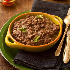 Пережаренная фасоль (Frijoles Refritos)