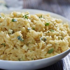 Рис с сыром (Arroz al Queso)