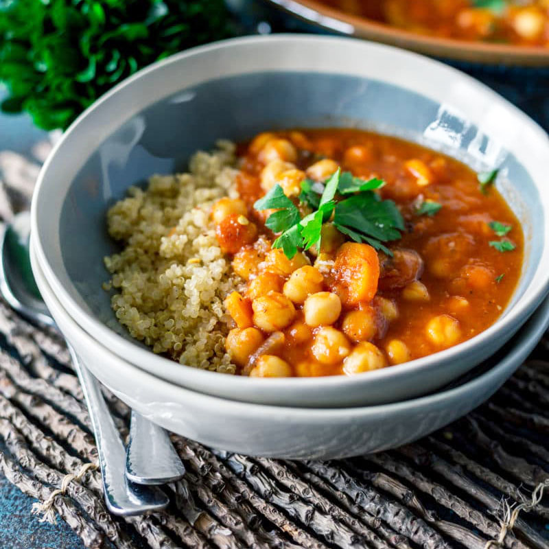 Authentic-Moroccan-Chickpea-Stew