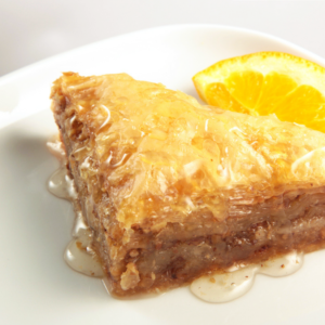 Слоеный пирог с орехами пахлава по-мароккански (Baklava)