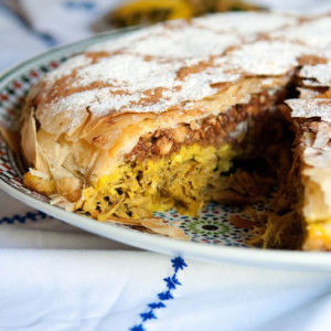 Пирог с курицей Пастилла (Pastilla, Bastilla)