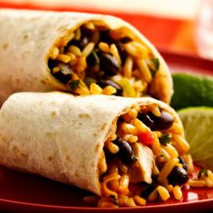ЛЕПЁШКИ С МЯСОМ И ФАСОЛЬЮ БУРРИТОС (Burritos)