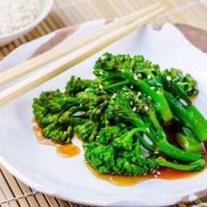 БРОККОЛИ С УСТРИЧНЫМ СОУСОМ (Broccoli Gai Lan)