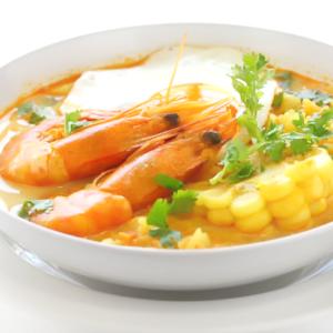 Креветки чупе (Chupe de Camarones)