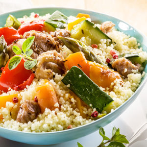 Кускус с семью овощами (Seven Vegetables Couscous)