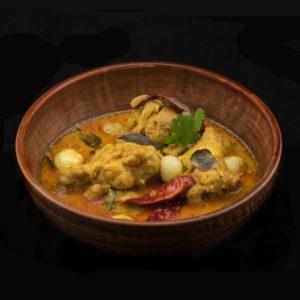 Керала куриный карри (Nadan Kozhi Curry)