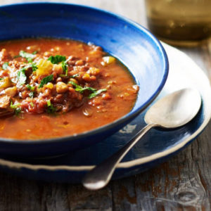 Суп с бараниной Харира (Harira)