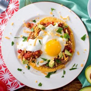 Яйца Уэвос Ранчерос (Huevos Rancheros)