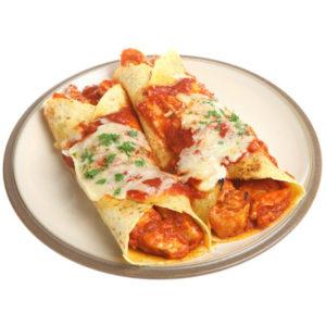 Роллы энчиладас с курицей (Enchiladas de Pollo)