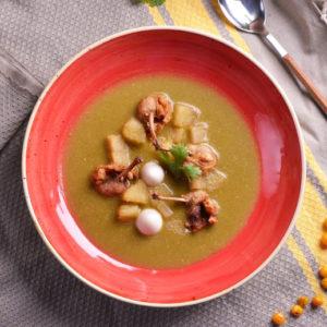Суп с курицей Инчикапи (Inchicapi de Gallina)