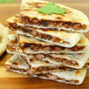 ЛЕПЁШКИ С МЯСОМ КИМА ПАРАТХА (Spicy Minced Meat Kheema Paratha)