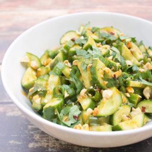 Огуречный салат самбал (Sambal)