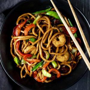 ЛАПША ПО-СЫЧУАНЬСКИ (Szechuan Noodles)