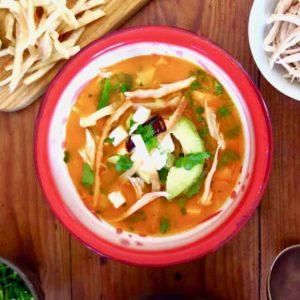 Суп ацтеков (Sopa Azteca)