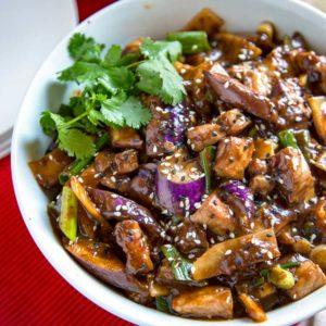 Баклажаны по-сычуаньски (Szechuan Eggplant)