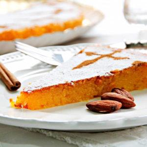 Миндальный торт Сантьяго (Tarta de Santiago)