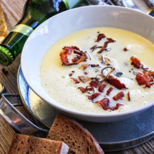 БАВАРСКИЙ ПИВНОЙ СЫРНЫЙ СУП (Käse-Bier Suppe)