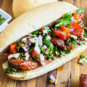 Сэндвич Чорипан (Choripán)