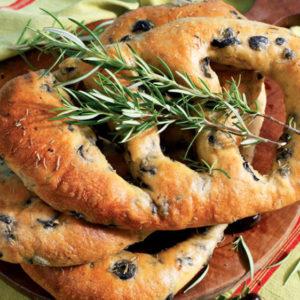 Прованский хлеб Фугасс (Fougasse)