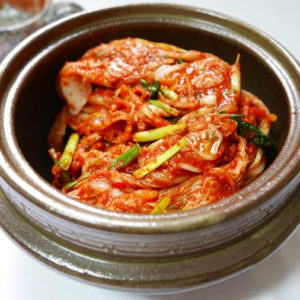 Закуска из пекинской капусты Кимчхи (김치)