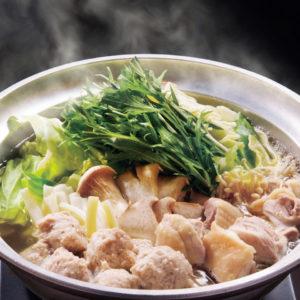 Тушеное мясо в горшочке Набэмоно (鍋物なべ物)
