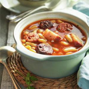Фасолевый суп Астурийская Фабада (Fabada Asturiana)