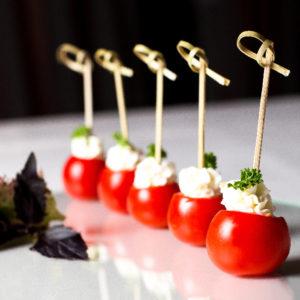 Фаршированные помидоры черри (Tomates Cerises Farcies)
