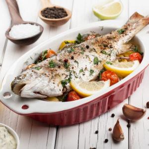 Рыба по-провански (Poisson au Four à la Provençale)
