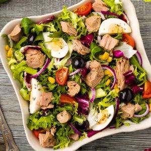 САЛАТ НИСУАЗ (Salade Niçoise)