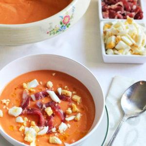Кордобский томатный суп-пюре Сальморехо (Salmorejo Cordobés)
