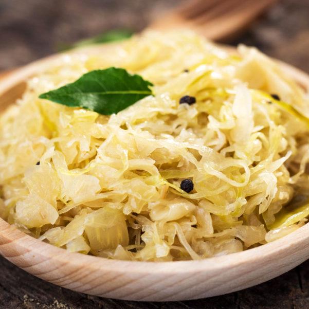 steamed-sauerkraut-on-old-wooden-background