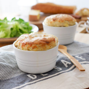Сырное Суфле (Soufflé au Fromage)