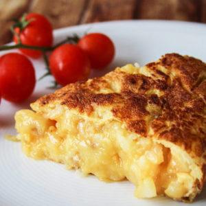Испанский омлет или картофельная тортилья (Tortilla De Patatas)