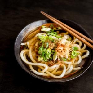 Суп с лапшой Удон (うどん)