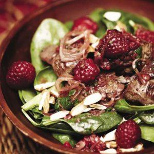 Салат из куриной печени (Salade de Foies de Volaille)