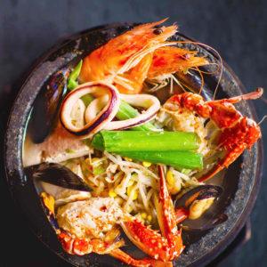 Суп из морепродуктов Хемуль-тан (Haemul-tang 해물탕)