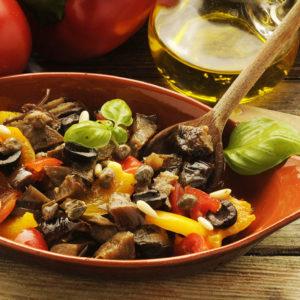 Овощное рагу по-сицилийски Капоната (Capunata)