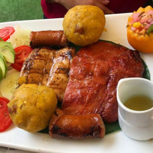 Свинина такачо кон сесина (Tacacho con Cecina)